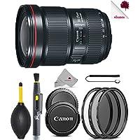 Canon EF 16-35mm f/2.8L III USM Lens Black (0573C002) USA - Full Accessory Basic Lens Bundle Package Deal