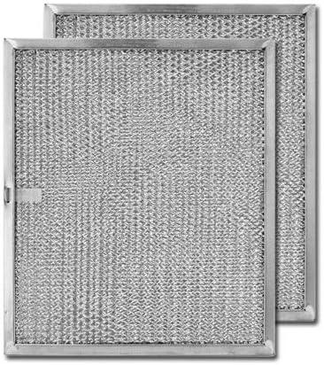 "aluminum range hood filter center 8-7//16/"" x 11-1//4/"" x 3//8/"" pull tab long"