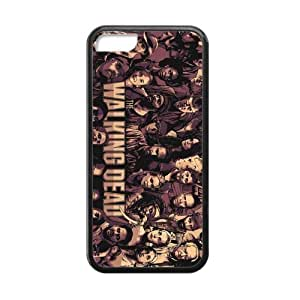 The Walking Dead Cell Phone Hard Case for iPhone 5C Plastic & TPU (Laser Technology)