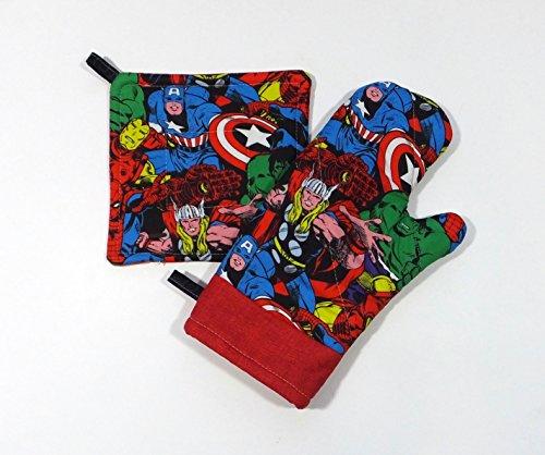 Marvel Comic Kitchen Set -