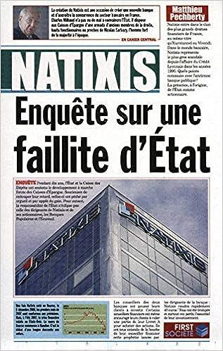 Amazon Fr Natixis Enquete Sr Faillite Matthieu
