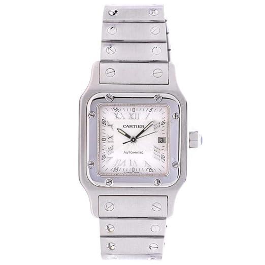 Cartier Santos galbee Automatic-Self-Wind Mens Reloj w20055d6 (Certificado) de Segunda Mano: Cartier: Amazon.es: Relojes