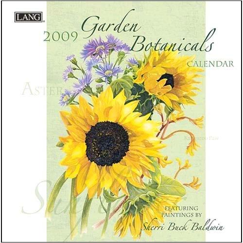 Garden Botanicals 2009 Small Wall Calendar