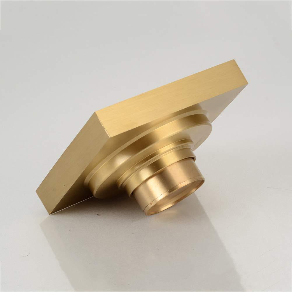 Duschrinne Messing Deo-Bodenablauf//Ablauf//Rinne Duschablaufrinne Golden