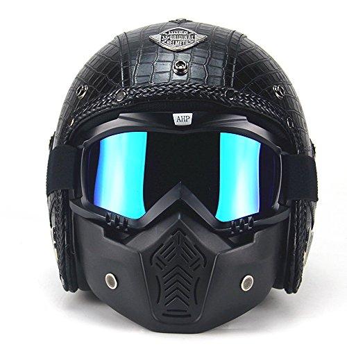 Chopper Bike Helmets - 7