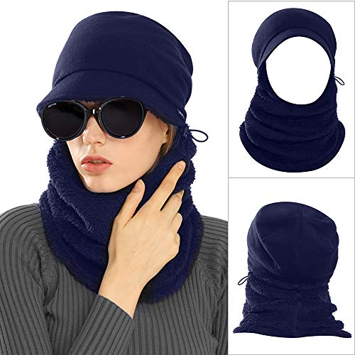 Cap Hat Scarf Set - 8