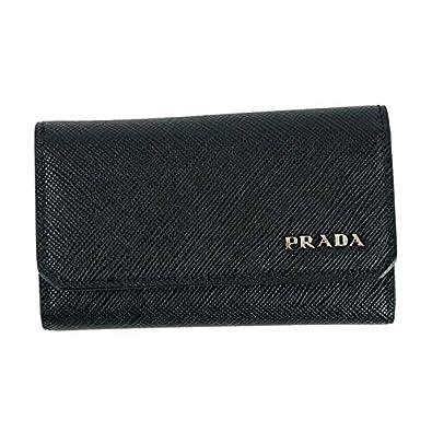 d2f4bf904647 Amazon | PRADA プラダ キーケース ブラック 2PG222 [並行輸入品] 通販