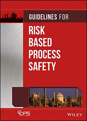 - Guidelines for Risk Based Process Safety