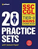 20 Practice Sets SSC Combined Graduate Level Mains Exam Tier-II 2018