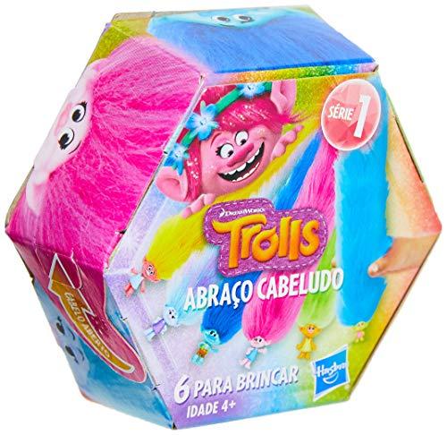 Brinquedo Bracelete Abraço Cabeludo, Trolls, E5117, Surpresa