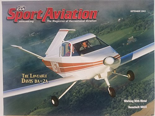 EAA Sport Aviation, September 2003 - the Loveable Davis for sale  Delivered anywhere in USA