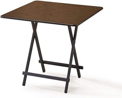 mesa plegable XUERUI Mesas Escritorio Carbón Acero Cuadro ...