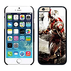 Fashion Custom Designed Cover Case With God of War For iPhone 6 Black 4.7 TPU inch Phone Case 173