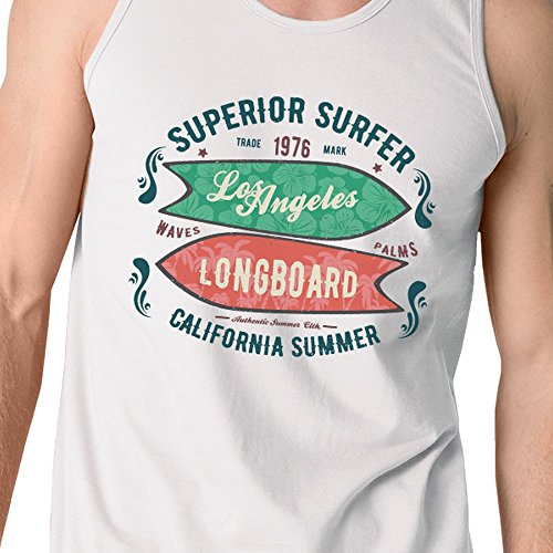 Homme Manche Taille Angeles Los Pull Longboard Unique Printing 365 Surfer Superior Sans qIRSa