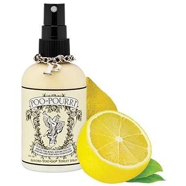 Poo-Pourri Before-You-Go Toilet Spray 4-Ounce Bottle, Original Citrus Scent - DISCONTINUED