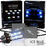 BPS Lighting® Black Series Premium AC ASIC Ballast 35w HID Xenon Conversion Kit With Quick Start Ballast Technology - Perfect to Replacement For Halogen Headlight & Fog Light - 2 Yrs Warranty / Tech Support (9007 (HB5), 8000K)