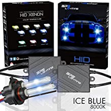 BPS Lighting® Black Series Premium AC ASIC Ballast 35w HID Xenon Conversion Kit With Quick Start Ballast Technology - Perfect to Replacement For Halogen Headlight & Fog Light - 2 Yrs Warranty / Tech Support (9004 (HB1), 8000K)