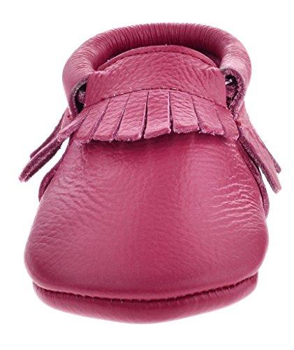 Crianças Sayoyo De Sapatos Roxo Bebê Borla De Sapatos Mocassins Macios Couro HqnRgFnpI