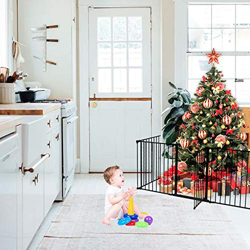 120 Inch Wide Fireplace Fence Indoor Baby Safety Gate Available In