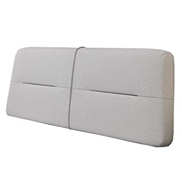 Amazon.com: Headboard Cushion Bed Wedge Backrest Pad Reading ...