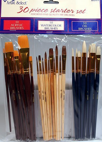 30-fine-art-paint-brushes-for-acrylic-oil-watercolors