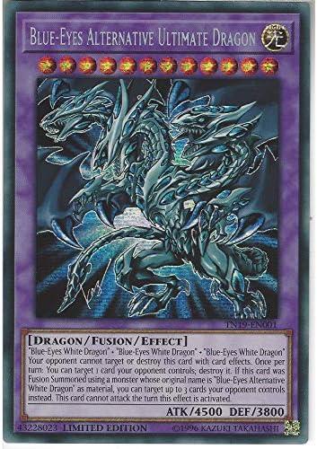 Yugioh Blue-Eyes Alternative Ultimate Dragon Prismatic Secret Rare TN19 Mint