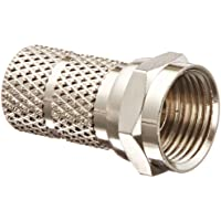 F Connector, Twist-On Style, For RG59/U Cable