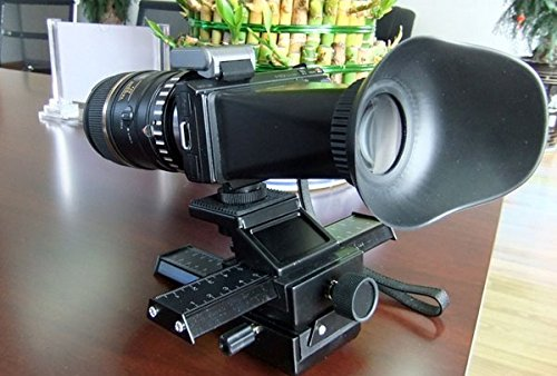 Lookatool V4 2.8X Magnifier Extender Magnetic LCD Viewfinder Hood For Sony NEX3 NEX5 New