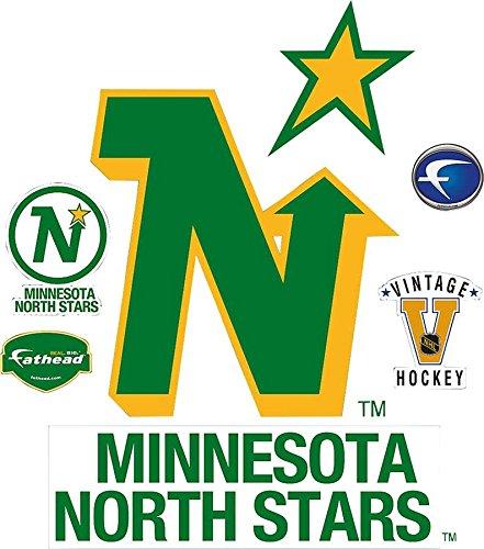 Minnesota North Stars Classic Logo Wall Decal 30 x 38in