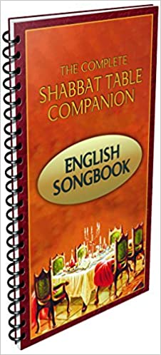 Shabbat Table Songbook 104 Popular English Jewish Songs Rabbi