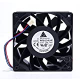 Delta PFB1224UHE Extreme High Airflow 24V Cooling Fan 120mm 12cm 120x38mm 12038 High CFM Cooling Fan 3 Pin Connecter Cooling Fan 4000RPM