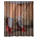 I-Manggo Wizard of Oz red high heels Custom Shower Curtain Bathroom Decor,72x72 Inch