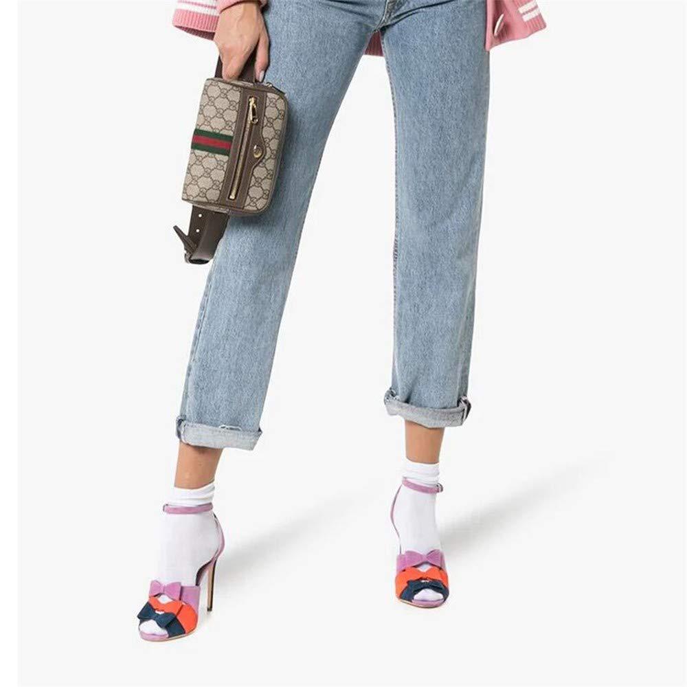 Scarpe col col col Tacco Sandali Tacco Alto Sandali Moda Bocca dei Pesci della Discoteca Americana delle Donne 707533