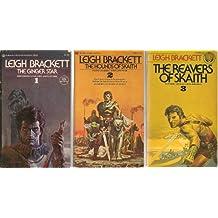 Adventures of Eric John Stark (3 Volumes, Ginger Star, Hounds of Skaith, Reavers of Skaith)