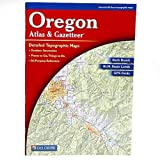 Delorme 333478 Oregon Atlas And Gazetteer