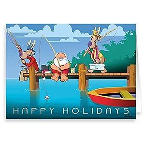 512owSpkbtL._SS300_ Beach Christmas Cards and Nautical Christmas Cards