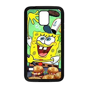 LINGH Lovely SpongeBob SquarePants Cell Phone Case for Samsung Galaxy S5