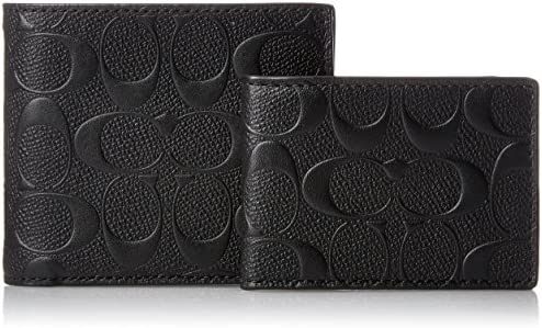 COMPACT SIGNATURE CROSSGRAIN LEATHER F75371 product image