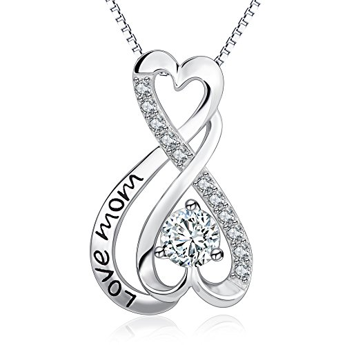 YFN Sterling Infinity Pendant Necklace