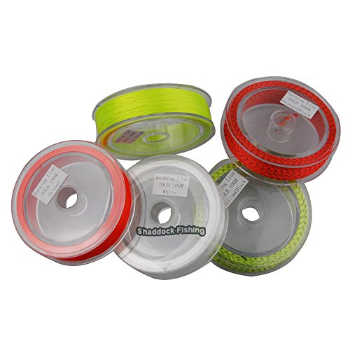 Shaddock fishing 1 pack 20lb 100m fly fishing backing line for Fly fishing backing