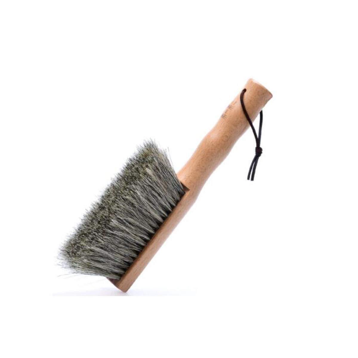 SHENGSHIHUIZHONG Horse Hair Sweeping Brush, Dusting Brush, Bedroom Soft Hair Sweeping Brush, Household Ash Removing Artifact, Eucalyptus Horse Hair Bed Brush Bedding, (Edition : A) by SHENGSHIHUIZHONG