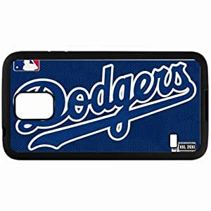 Personalized Samsung S5 Cell phone Case/Cover Skin Los Angeles Dodgers Black