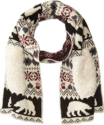 Bearpaw Women's Kissing Bears Pocket Scarf