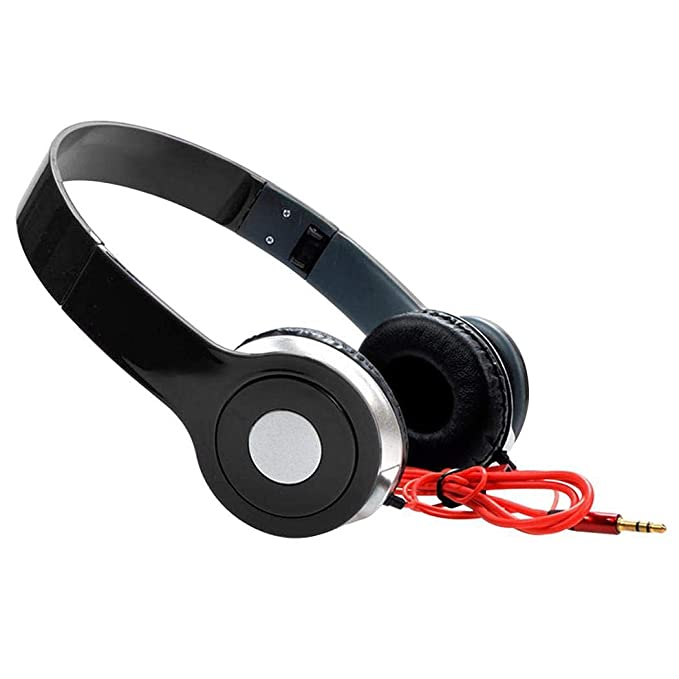 Foshin 3.5mm Stereo Over Ears With Microphone Wired Gaming Headphone On-Ear Headphones
