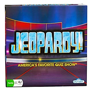 Jeopardy board game do it yourselfore jeopardy board game americas favorite quiz show party game features 180 cards 6 solutioingenieria Images