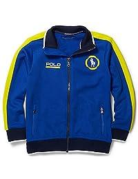 Polo Sport Ralph Lauren Boys Cotton-Blend Track Jacket (2/2T, Pacific Royal)
