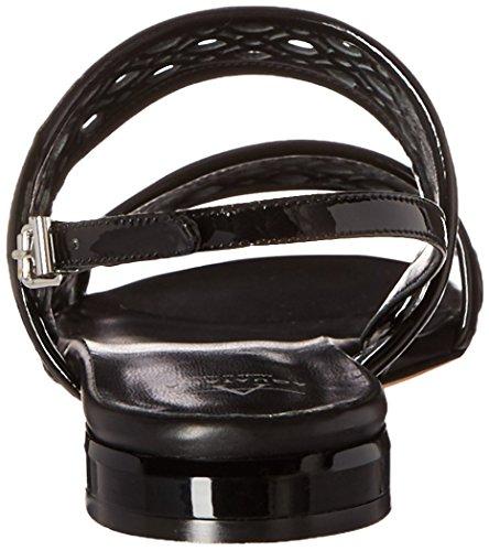 Patent Black Aquatalia Women Sandal Flat Genevieve xW1OWfwgnq