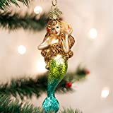 Old World Christmas Mermaid Friends Glass Blown