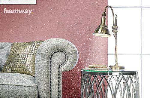 Hemway Clear Glitter Paint Glaze (White) 1L / Quart for Pre-Painted ...