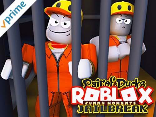 Roblox Jailbreak (PairOfDucks Funny Moments)